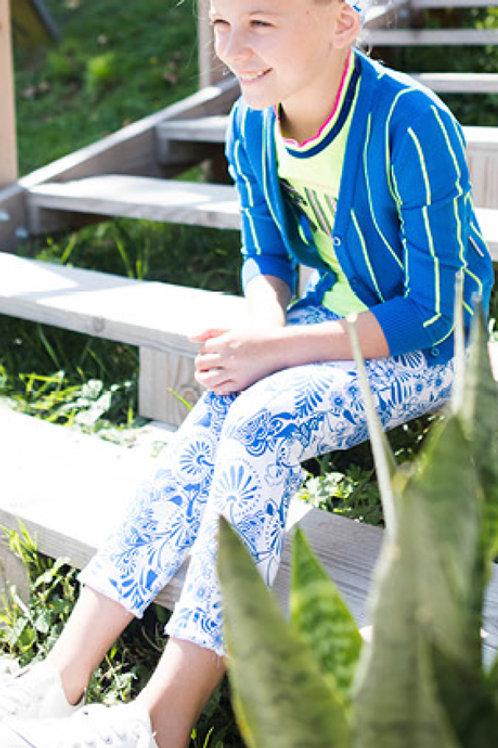 Pantalón BLUE FLOWER (Y002-5630)
