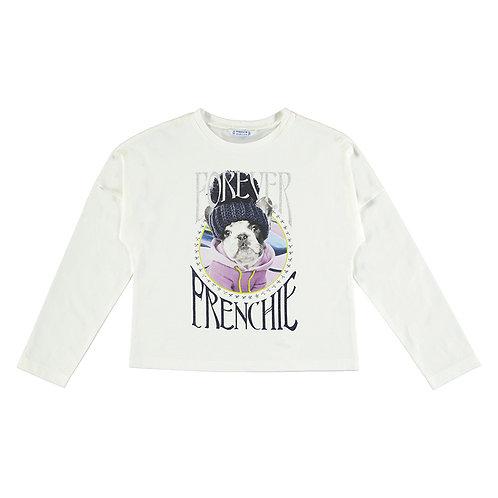Camiseta blanca perro MAYORAL (7095)