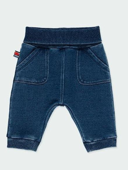 Pantalón denim bebé niño BOBOLI  (192024)