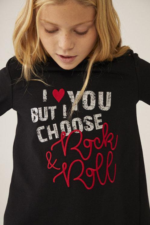 Camiseta rock apertura BOBOLI (433022)