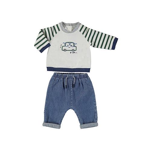 Conjunto pantalón tejano MAYORAL (2517)