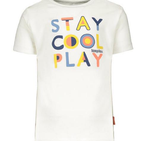 """Camiseta niño """"Stay Cool Play"""" de BAMPIDANO (A102-6441)"""