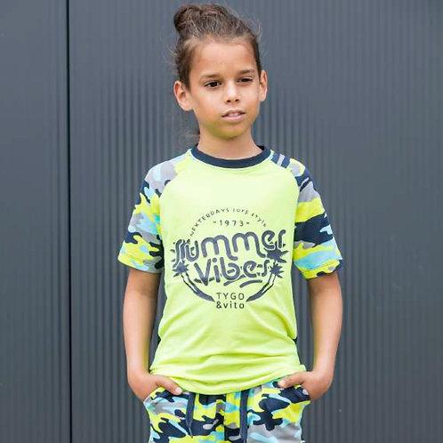 Camiseta Neon SUMMERVIBES (X003-6458)