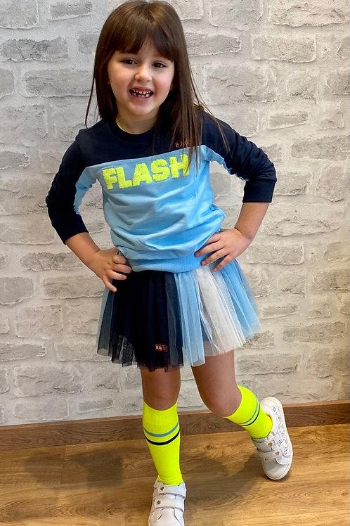 Sudadera azul flash B.NOSY (Y012-6300)