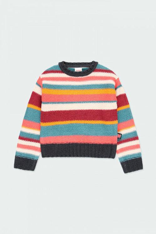 Jersey tricotosa listado BOBOLI (413198)