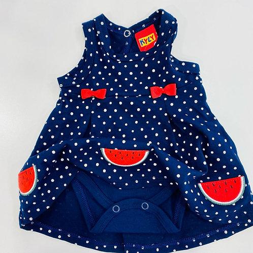 Vestido body sandias marino (110099)