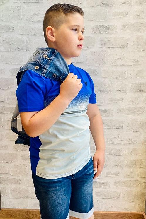 Camiseta niño azul degradado de BELLAIRE  (B103-4409)