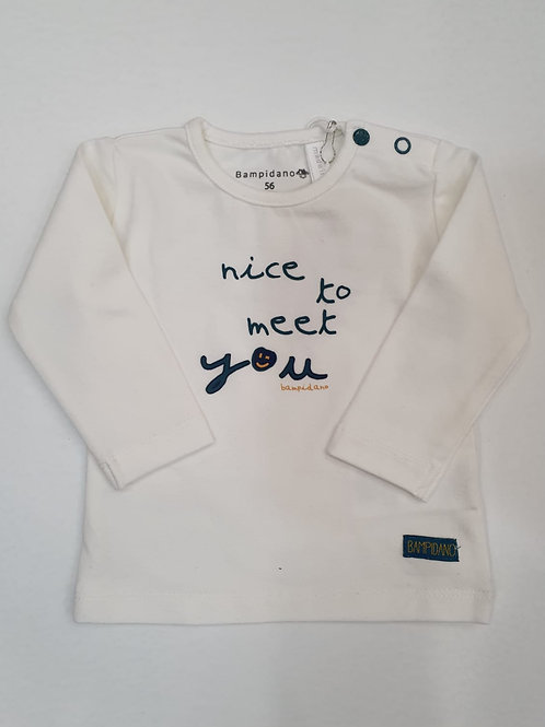 """Camiseta """"Nice"""" de BAMPIDANO  (A007-0434a)"""