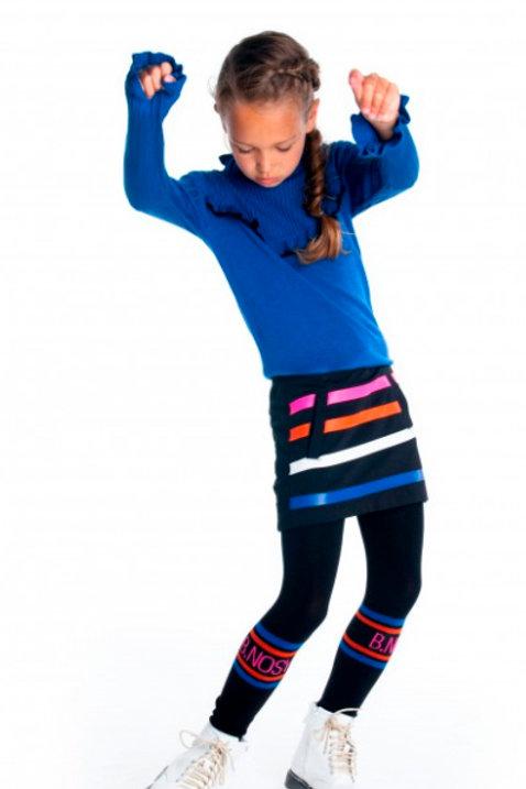 Falda líneas colores B.NOSY (Y008-5736)