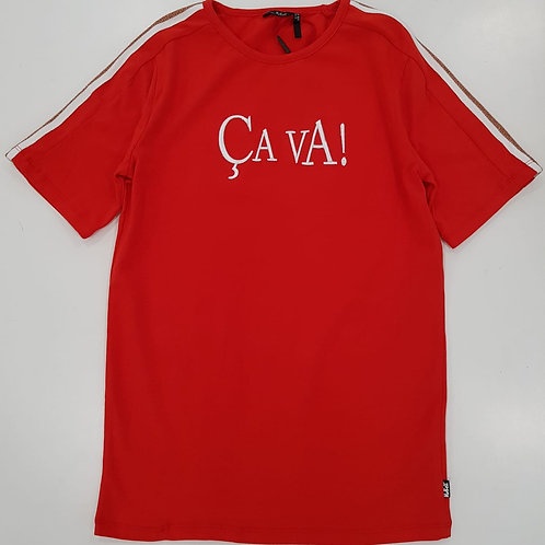"""Camiseta """"ça va"""" (Q002-3402)"""