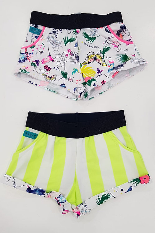 Shorts estampado/rayas B.NOSY (Y003-5652)
