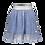 Thumbnail: Falda azul plateada (M012-5790)