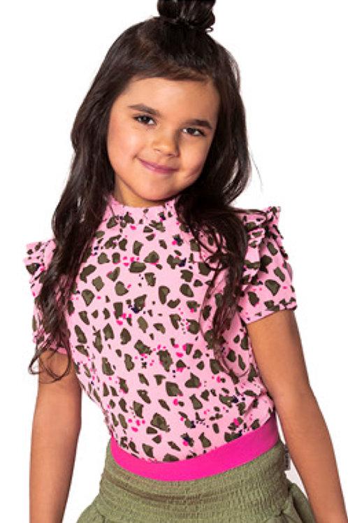 Camiseta PINK LEOPARD (Y002-5726)
