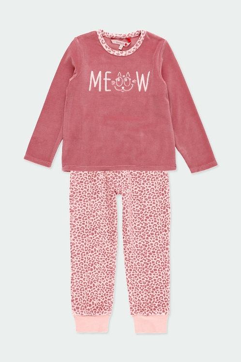 Pijama animal print rosa BOBOLI  (921002-3692)