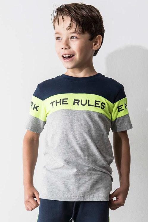Camiseta THE RULES (X002-6433)
