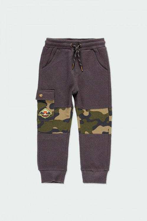 Pantalón felpa camuflaje BOBOLI (523033)