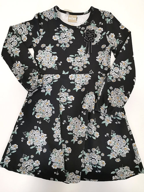 "Vestido ""Black Flower"""