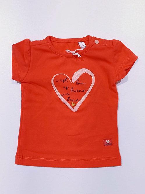 Camiseta Corazón Naranja BAMPIDANO (A002-7422)