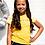 "Thumbnail: Camiseta amarilla""happy days"" B.NOSY (Y103-5470)"