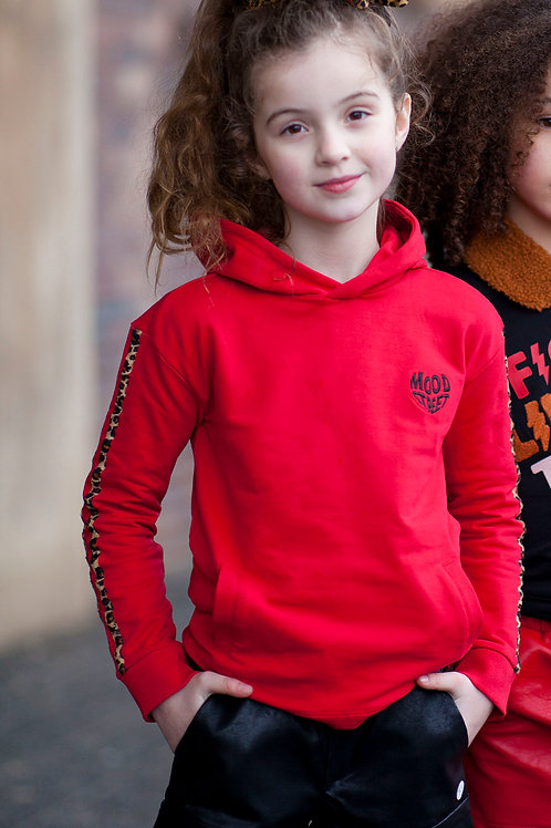 "Sudadera ""Red Leopard"" (M008-5333_272)"