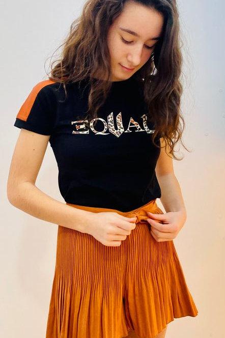 """Camiseta niña """"EQUAL"""" de NOBELL (Q102-3401)"""
