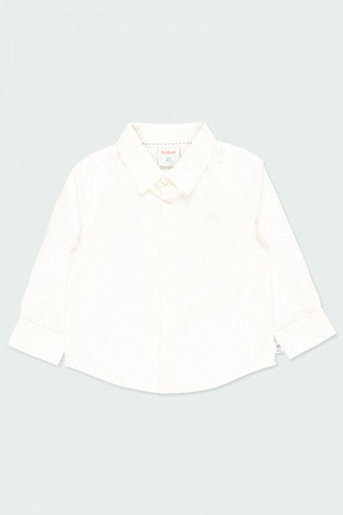 Camisa tejido espiga BOBOLI (713001)
