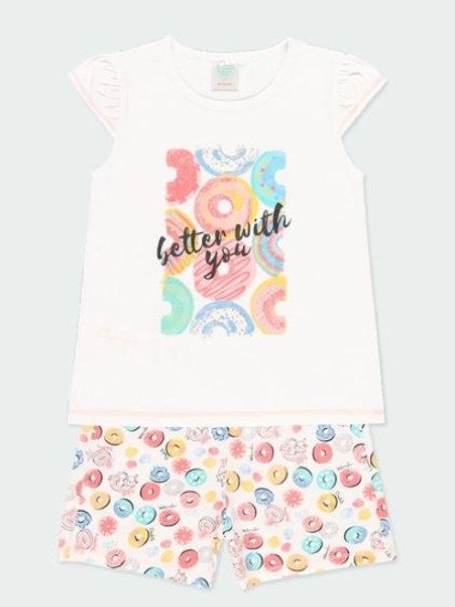 Pijama punto dulces niña BOBOLI (922070)