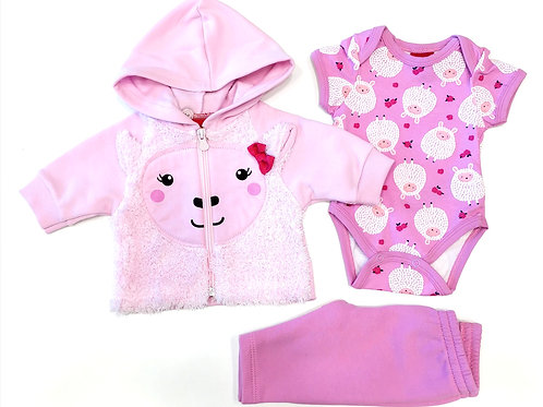 "Conjunto ""Pink Sheep"" (207060)"