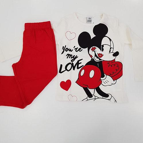 Pijama Minnie Mouse (HS2087)