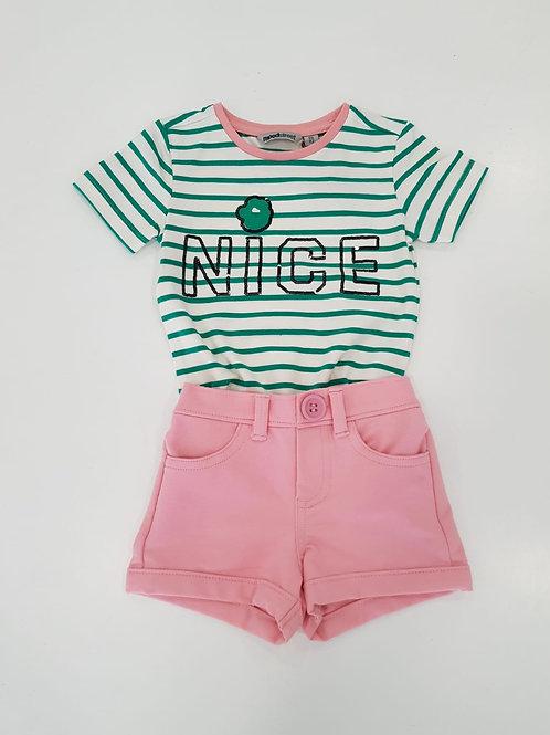 "Camiseta niña ""Nice"" de MOODSTREET (M002-5402)"