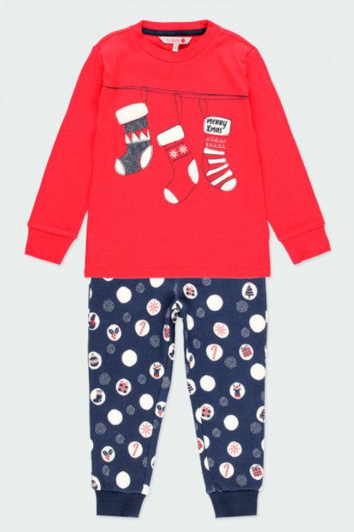 Pijama navideño rojo BOBOLI (963019)