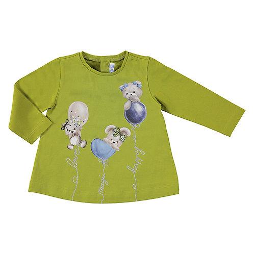 Camiseta verde oliva MAYORAL (2085)