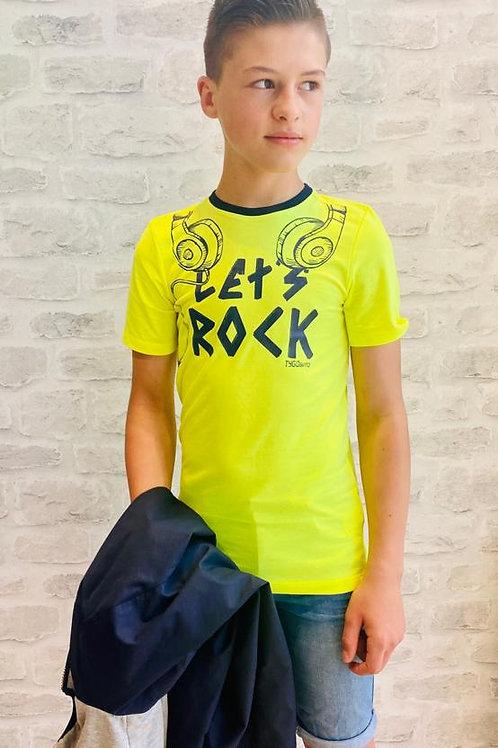 """Camiseta """"Let's Rock"""" (X012-6412)"""