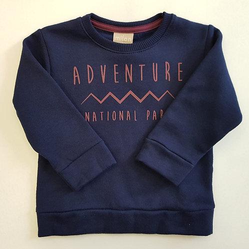 """Sudadera """"Adventure"""" azul (11436)"""
