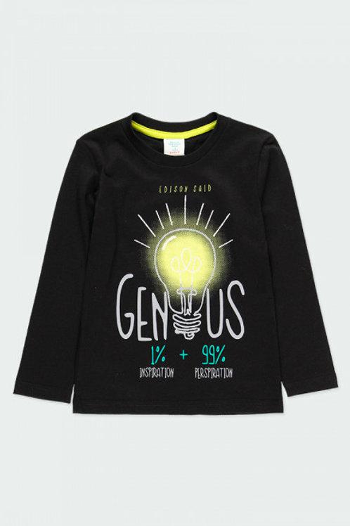 Camiseta genius negro BOBOLI (593029)
