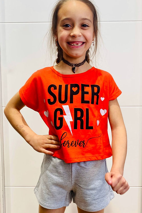"Conjunto ""Super Girl"" de KYLY (109683)"