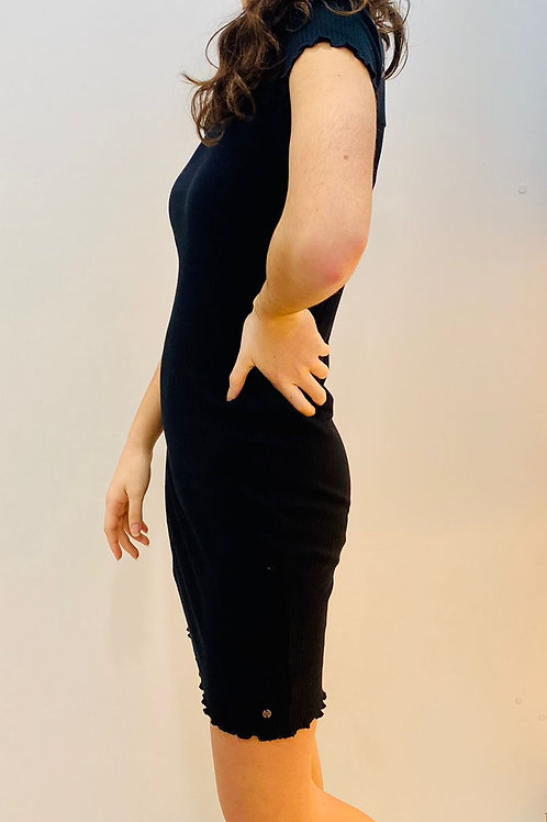 Vestido negro ajustado NOBELL (Q102-3807)