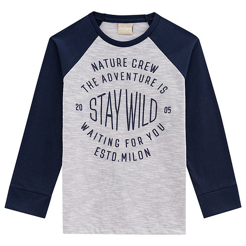 """Camiseta """"Stay Wild"""" (11468)"""