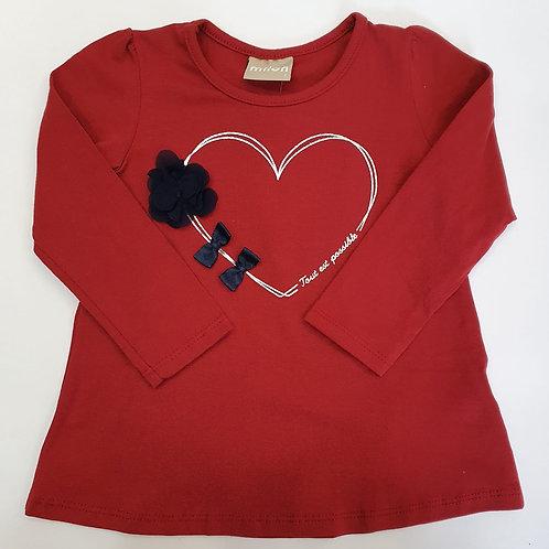 "Camiseta ""Silver Heart"" (11345)"