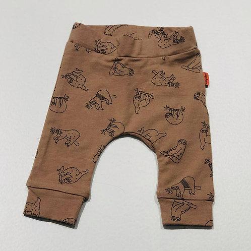 Pantalón marrón perezoso de BAMPIDANO (A101-0606)