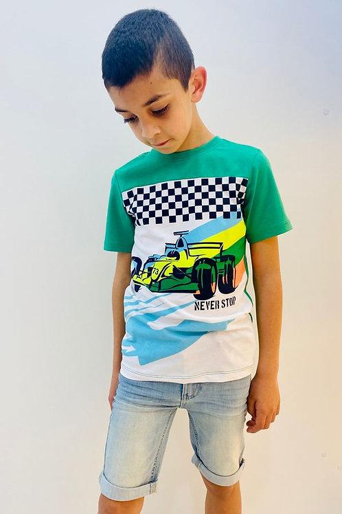 """Camiseta """"Never Stop"""" (X002-6432)"""