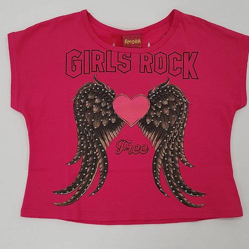 """Camiseta """"Girls Rock"""" (51160)"""