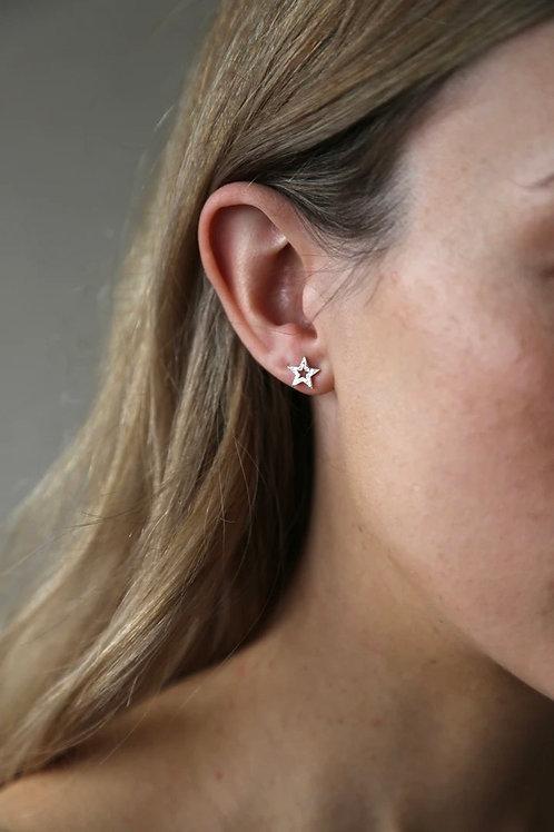 Tutti & Co Star Stud Earrings