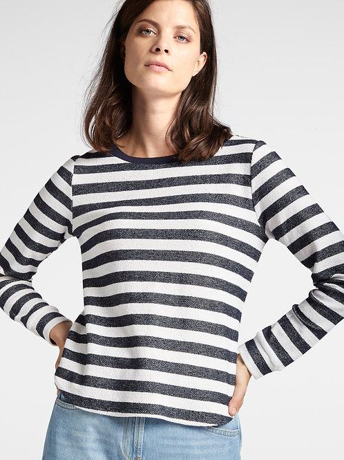 Sandwich Striped Sweatshirt