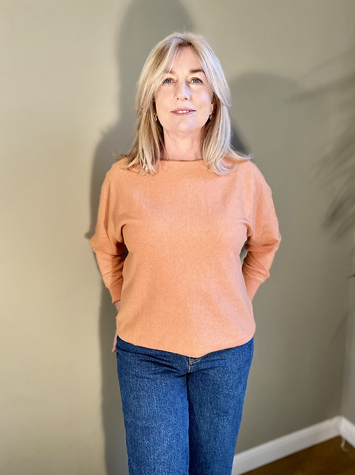 Thought Polly Jumper - Clementine Orange
