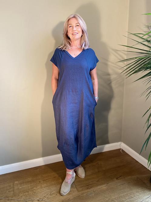 Peruzzi Linen Dress