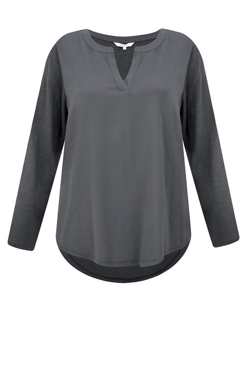 Sandwich Essentials Top - Grey