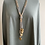 Thumbnail: Long Wooden Beaded Necklace