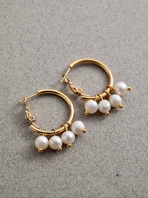 Danon Cali Hoop Earrings E60152G