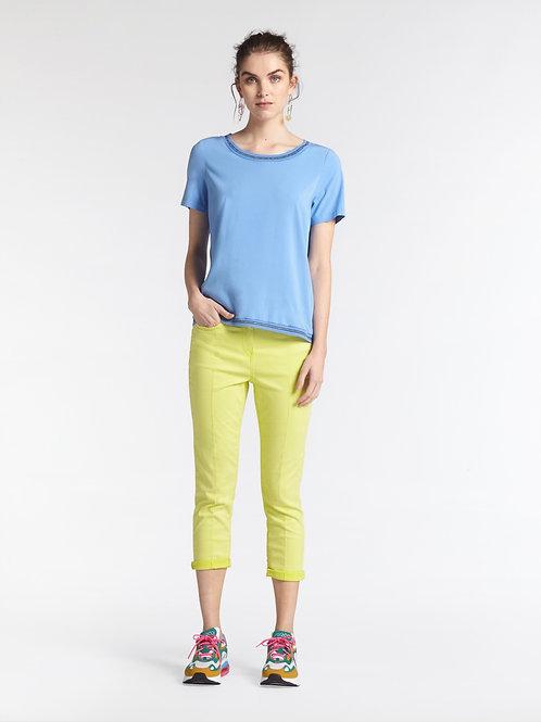 Sandwich Lime Crop Trousers